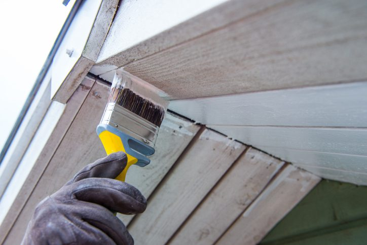 Exterior House Painting in Winter